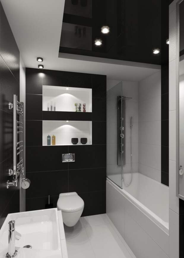 Дизайн ванной комнаты в 5 квадратных метров: фото, современные идеи 2020 (55 фото)