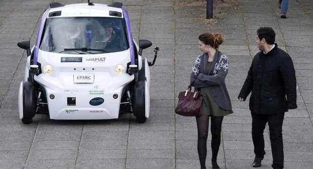 Великобритания взялась за беспилотные авто