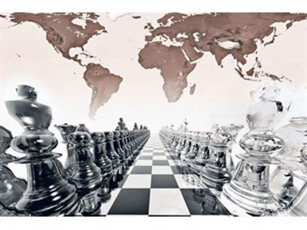 Шахматы в которые играет Путин...