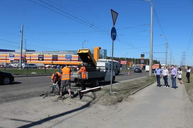 Завершился ремонт дороги на улице Правды в Петрозаводске
