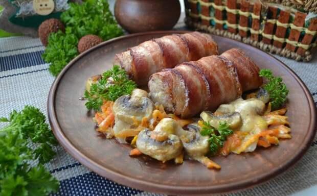 Мясные рулеты на новогодний стол: праздничное и вкусное блюдо