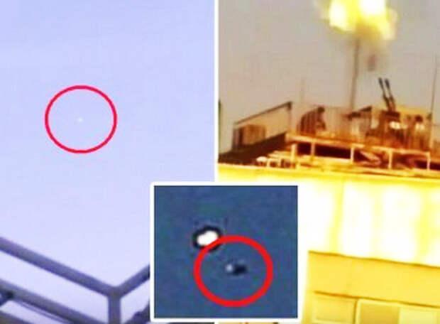 Хроника появления НЛО за последние дни