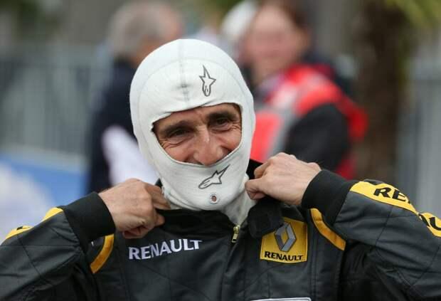 «Я бы предпочёл гонять на своей старой машине». Ален Прост о тестах за рулём Red Bull