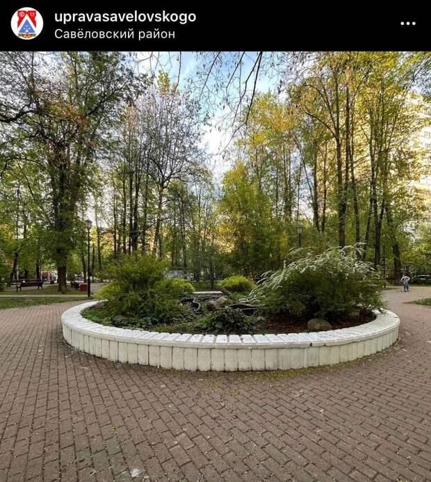 В Савеловском прошло благоустройство парка