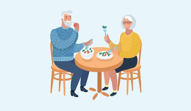 Правильное питание для пожилого человека —рекомендации диетолога