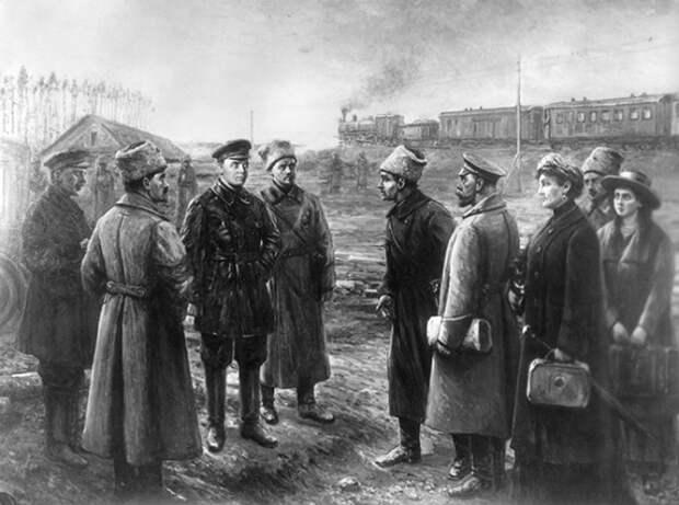 Последний путь Романовых перед расстрелом