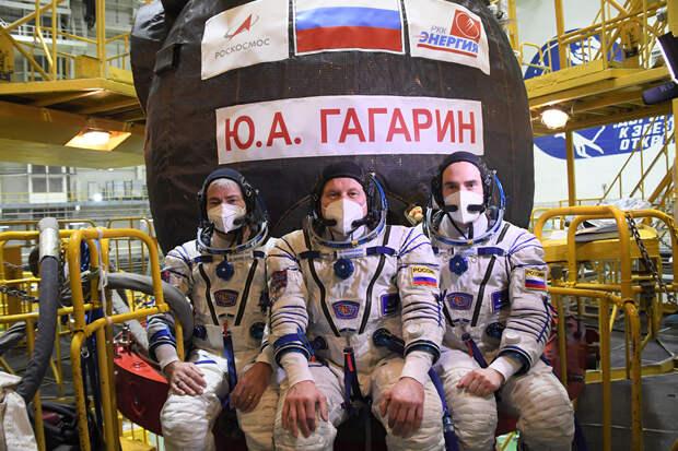 Корабль «Ю. А. Гагарин» стартовал с Байконура к МКС