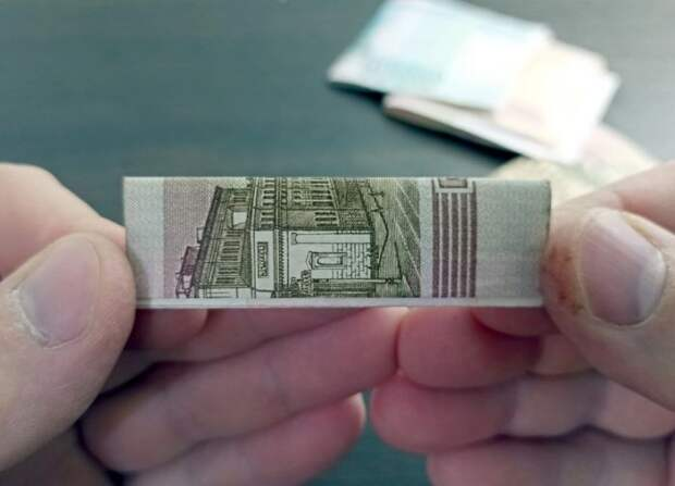 Помещаем деньги в пачку из под жвачки: оригинальный подарок на день рождения