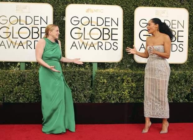 Актрисы Анна Кламски (слева) и Трэйси Эллис Росс.