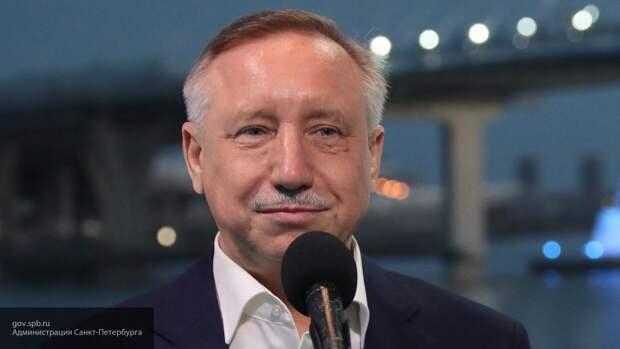 Губернатор Петербурга отчитался о проделанной за месяц работе