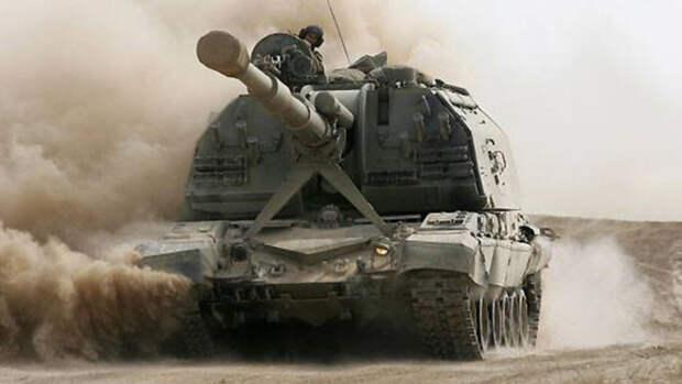 В США испугались российских гаубиц «Мста-С» с «глазами в небе» для наведения на цель