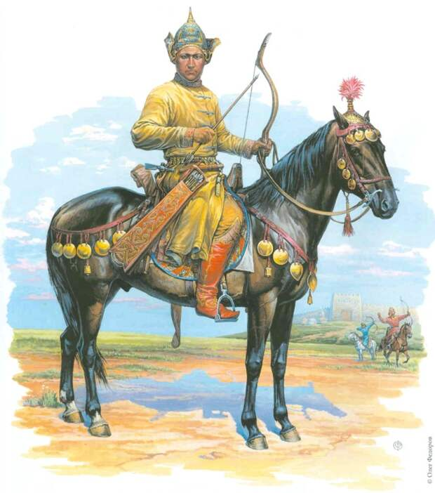 Аланы. Комплекс вооружения воинов хазарского каганата