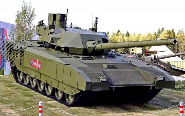 Почему за российским танком Т-14 «Армата» большое будущее