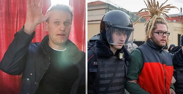 Подростки, задержанные на митинге Навального: Дядя Леша, ваши «сети» нас втащили в автозак!