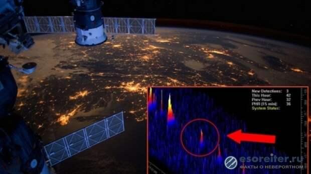 Агентство BPEarthWatch сообщило: в атмосферу Земли вошел огромный НЛО