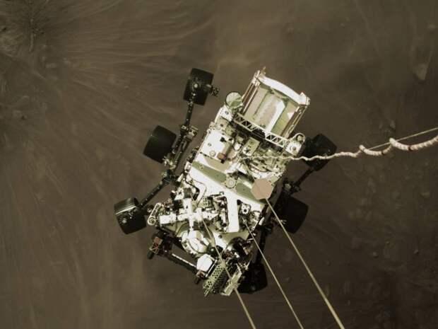 Марсианские хроники ровера Perseverance