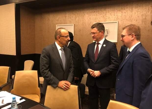 Глава Минэнерго России Александр Новак на совещании ОПЕК+проводит в Баку ряд двусторонних встреч
