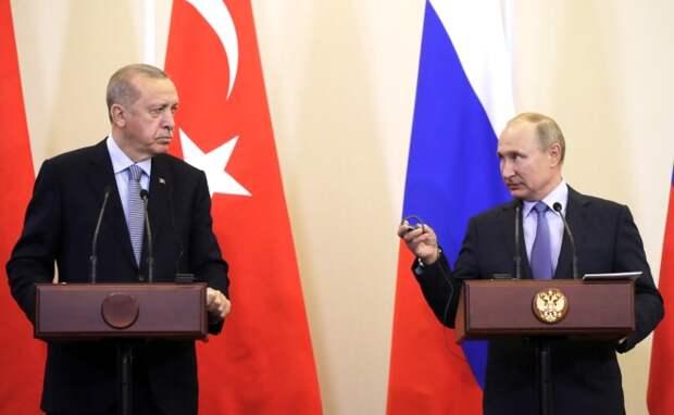 Про итоги встречи Путина и Эрдогана. Александр Роджерс