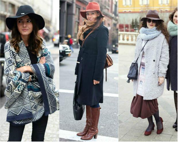 Как подобрать шляпу к верхней одежде: пальто