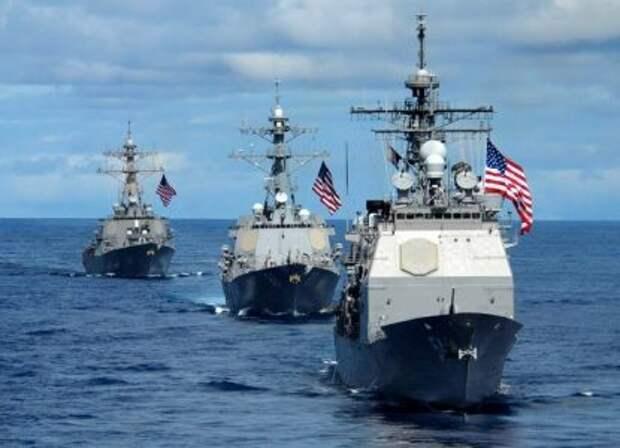 Безденежье ввергает в хаос американский военный флот