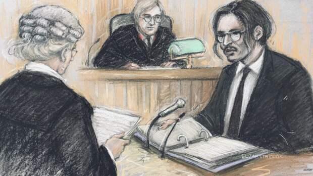 «Я бы никогда не ударил женщину»: Джонни Депп предстал перед Высоким судом Лондона