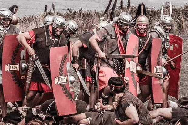 боевой клич римлян