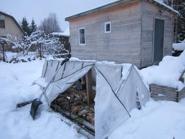 Про мелочи жизни в садоводстве зимой