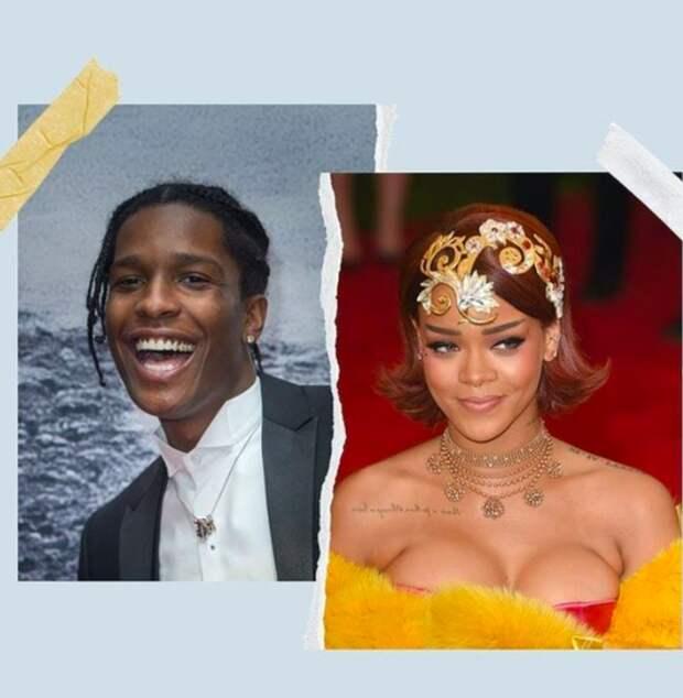 Певицу Рианну и рэпера A$AP Rocky не пустили в ночной клуб на Манхэттене