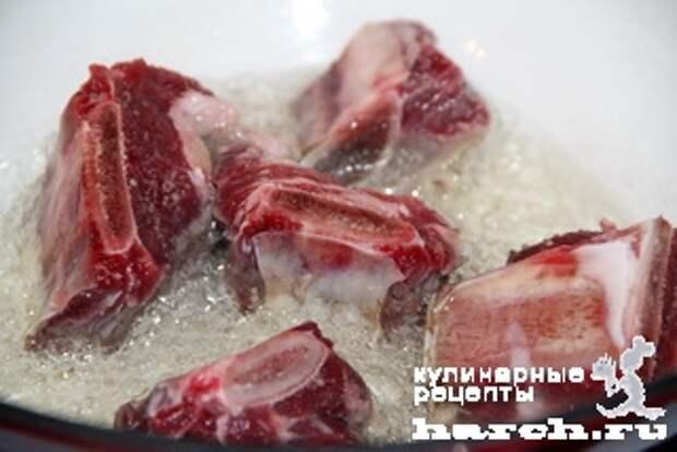 myasnoe ragu s fasoliu tbilissi 02 Мясное рагу с фасолью Тбилиси