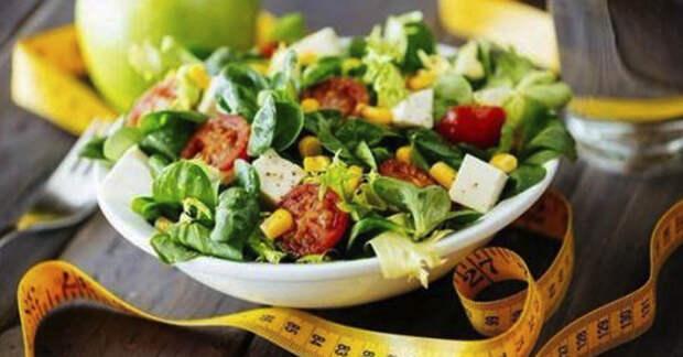 Польза салатов при диете: рекомендации и рецепты