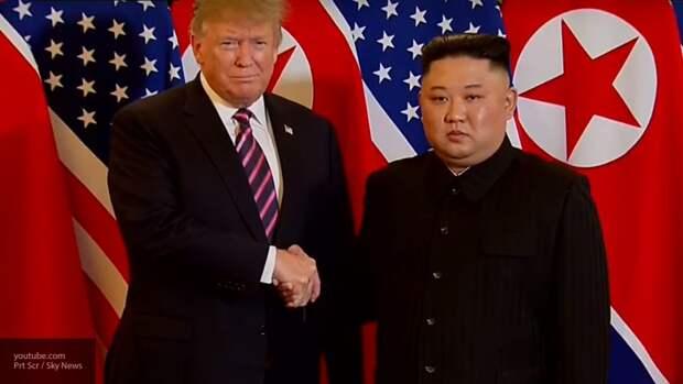 Трамп опроверг слухи о плохом самочувствии Ким Чен Ына