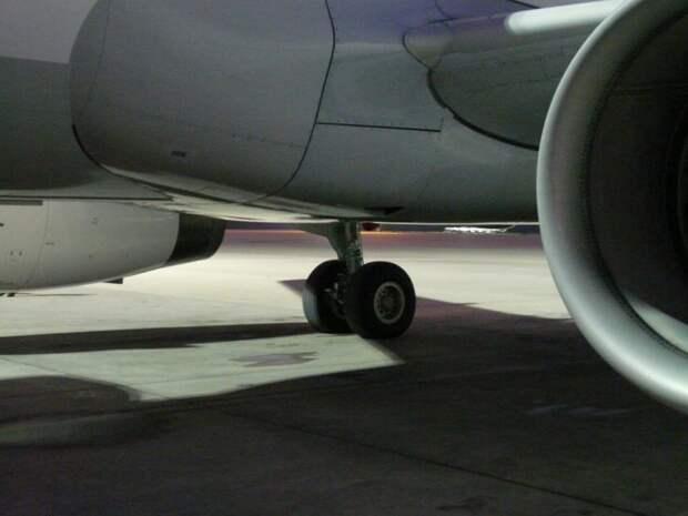 Самолет с заблокированными тормозами не смог вылететь из Шереметьево