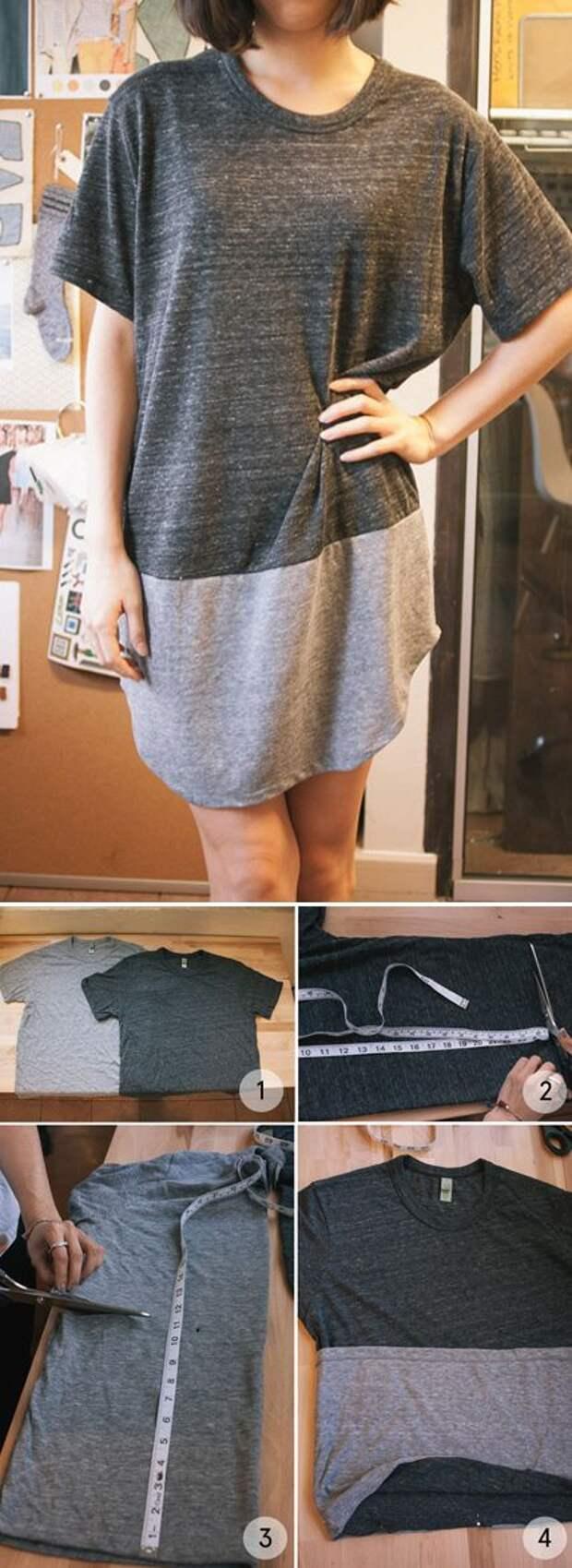 Платья из футболок