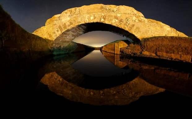 Мост Swilken Bridge в Сент-Андрусе, Шотландия