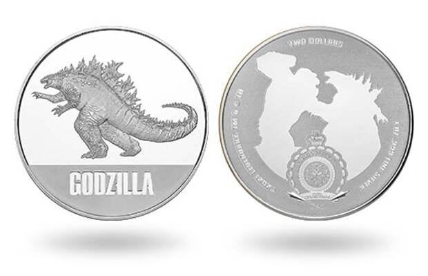 Выход блокбастера «Годзилла против Конга» ознаменовался целой «россыпью» серебряных инвестиционных монет