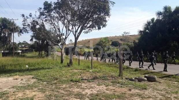 Провокационные учения бразильской армии. Российские военные на венесуэльской границе?