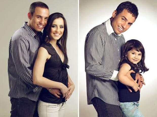 Мужчина сделал необычную фотосессию со своей дочуркой, в память о погибшей жене