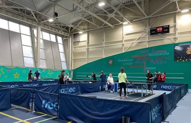 Спортсмен из Бабушкинского завоевал «серебро» в турнире по настольному теннису