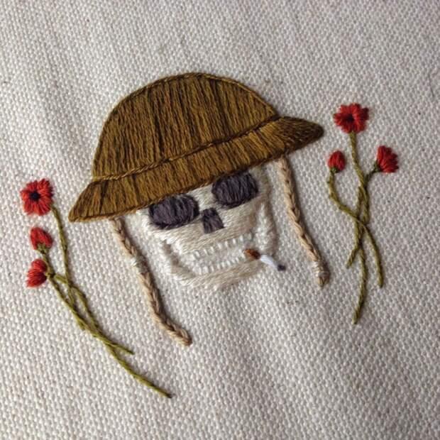 Вышивка от Tinycup Needleworks