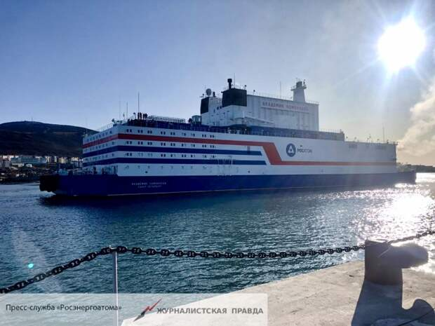 Россия ввела в эксплуатацию первую в мире плавучую АЭС