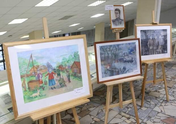 Завершился конкурс детских рисунков «На защите сердца Отчизны»/Фото Ярослав Чингаев