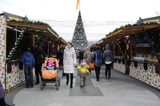 Рождественская ярмарка Краснодара откроется 23 декабря