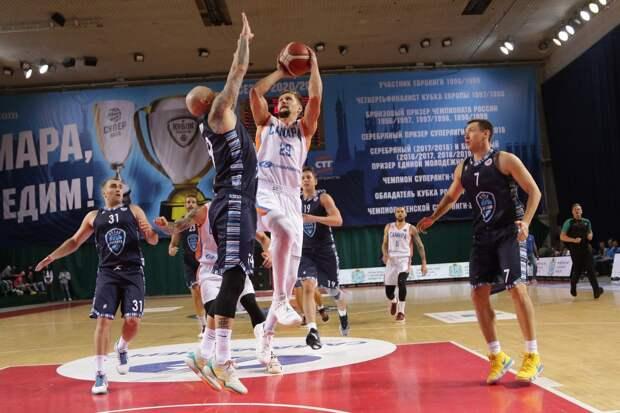 Ижевские баскетболисты «Купол-Родников» уступили на выезде в Самаре