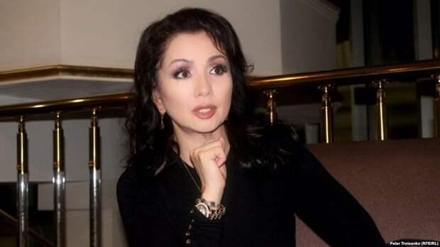 жена актера Венера Ибрагимова
