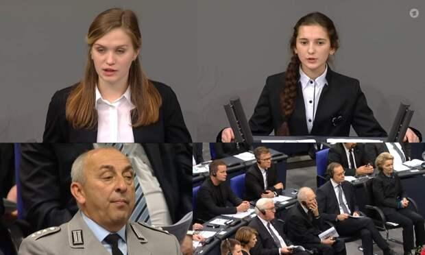 О чём рассказали девочки в Бундестаге: Перевод выступлений Кокориной и Агеевой, незаслуженно обделённых славой и признанием