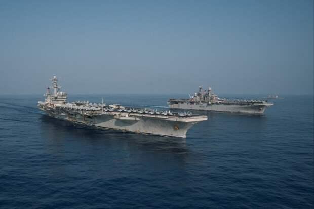 Пентагон создает против Китая военно-морскую оперативную группу в Тихом океане