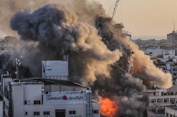 Атаки Израиля вынудили 10 тысяч жителей Газы покинуть свои дома