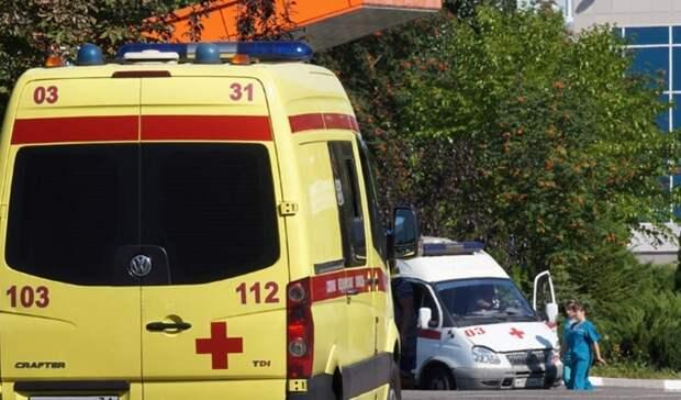 В Тюмени на парковке около Областной больницы сделали новую разметку