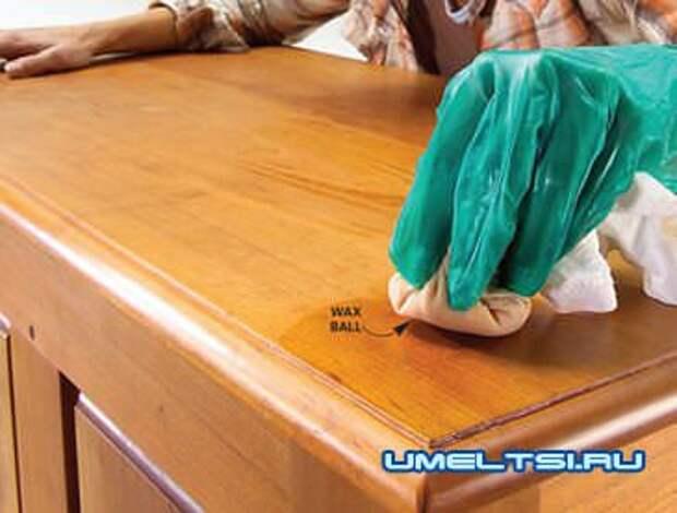 Как правильно лакировать и полировать мебель