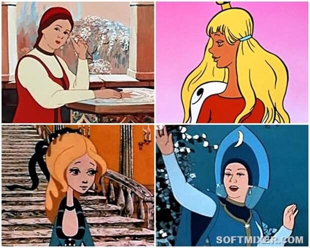 Красавицы советской мультипликации